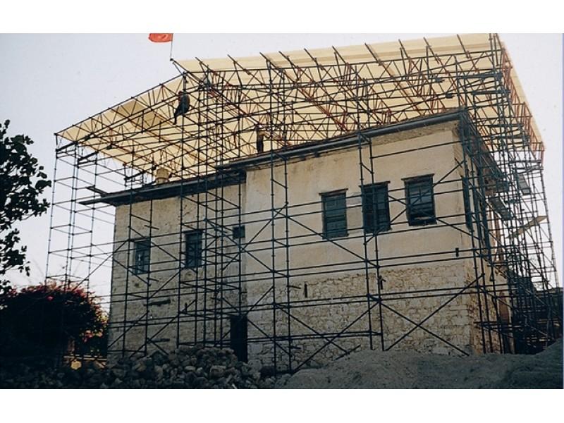 Restorasyon, Tribün İskelesi ve Diğer İskele Sistemleri
